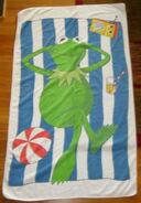 Lady pepperell kermit towel