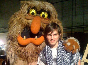 Sweetums and Paul Becker