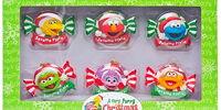 Sesame Street Christmas ornaments (Sesame Place)