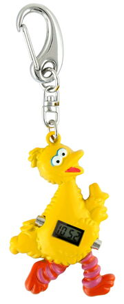 Viva time clip watch big bird