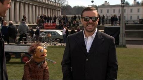 ABC News Behind the Scenes of 'Muppets Most Wanted'