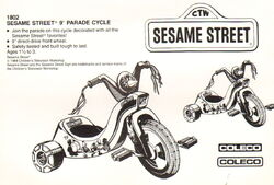 Parade cycle catalog