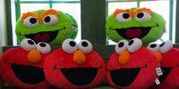 Sesame Street cushions (Universal Studios Singapore)