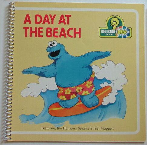 File:Beep books day at the beach.jpg