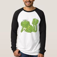 Zazzle kermit lying down shirt