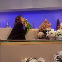 Kiss Kermit Natalie Morales