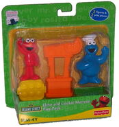 Elmo cookie play pack