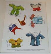 Muppet babies paper doll book 2