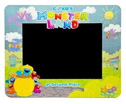 Sesame place frame monster land