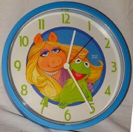 Picco 1980 clock kermit piggy