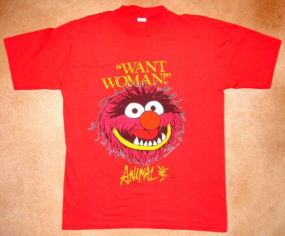 File:1981 animal t-shirt.jpg