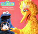 Sesame Street 1989 Baby Animals Calendar