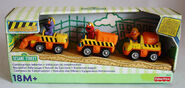 Fisher-price 2002 die-cast construction cars set 1