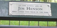 Jim Henson Bench