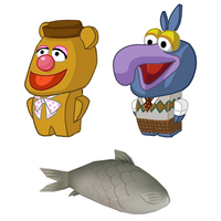 Disney Infinity Muppet concept art