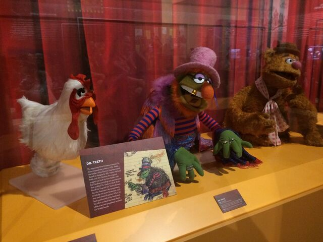 File:Center for Puppetry Arts - Camilla, Dr. Teeth, Fozzie Bear.jpg