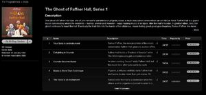 Faffner iTunes