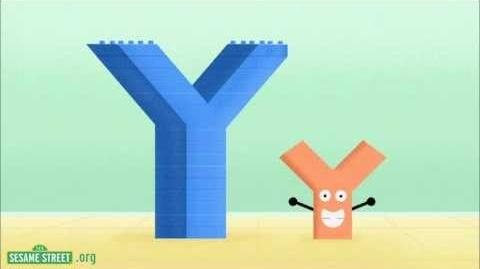 Sesame Street Y do I love the Letter Y