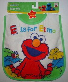 Hamco bib e is for elmo