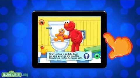 Sesame Street Potty Time with Elmo App Preview