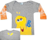 Morfs big bird infant sock tee