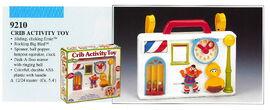 Illco 1992 baby toys crib activity toy