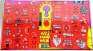 Colorforms 1988 magic numbers set 2