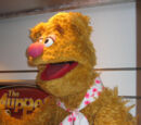 Fozzie Bear photo puppet replica