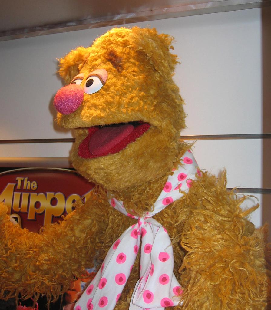 fozzie bear photo puppet replica muppet wiki fandom