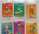 Muppet Babies stickers (General Mills)