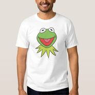 Zazzle kermit cartoon head shirt