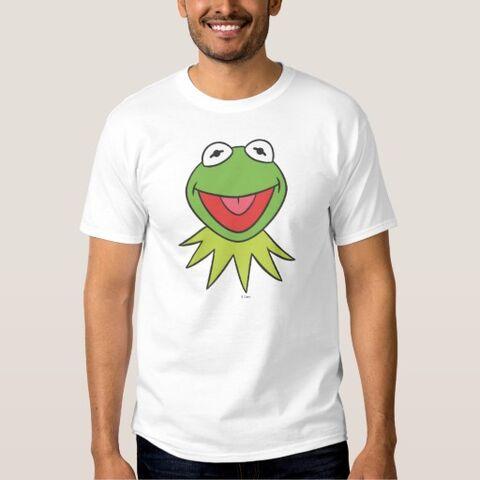 File:Zazzle kermit cartoon head shirt.jpg