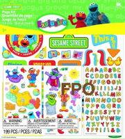 Ek success 2011 sesame scrapbook page kit