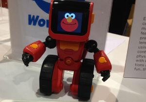 Elmoji-coding-robot