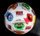 Sesame Place soccer ball