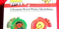 Sesame Street Winky Medallions