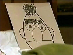 Bert drawing bed