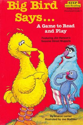 Book.bigbirdsays