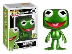 Funko-POP-metallic-Kermit-SDCC-exclusive-2013