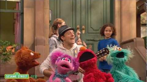 Sesame Street Outdoors with Jason Mraz