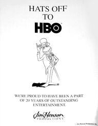 Congratulatory ad