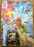 Milton bradley 1980 kermit piggy puzzle 'femme fatale'