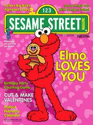 Sesamestreetmagazinefebruary2002