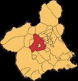 Mula en la Rigión e Murcia