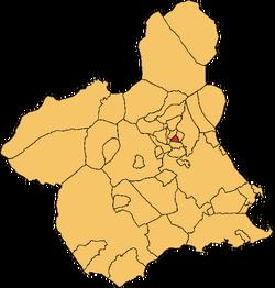Zutí en a Rigión e Murcia
