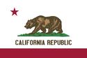 Bandera e California