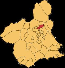 Blanca en a Rigión e Murcia