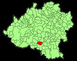 Villasayas (Soria) Mapa