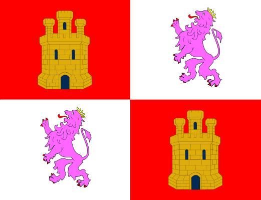 Archivo:Bandera e Castilla y Lleón.png