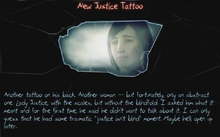 -23 New Justice Tattoo